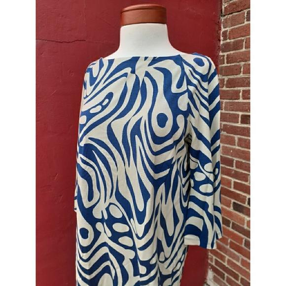 J. McLaughlin Stretch Knit Print Dress Spring